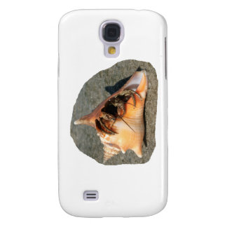 Hermit Crab on Sand Coming out of shell Samsung Galaxy S4 Case