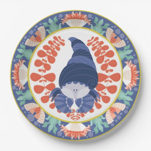 Hermit Crab Paper Plates Set Zazzle