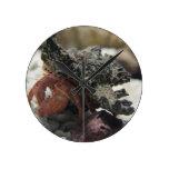 Hermit Crab Round Clocks