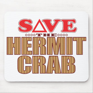 Hermit Crab Save Mouse Pad