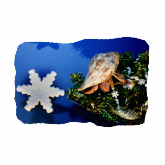 Hermit Crab Star Christmas Tree Design Cut Outs
