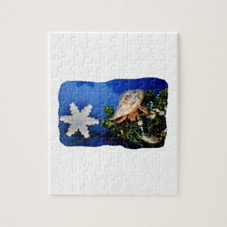 Hermit Crab Star Christmas Tree Design Puzzles