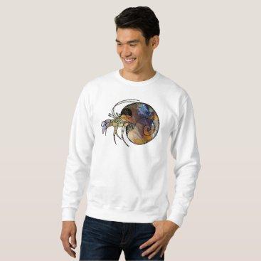 Beach Themed Hermit Crab Sweatshirt