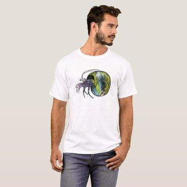 Beach Themed Hermit Crab T-Shirt