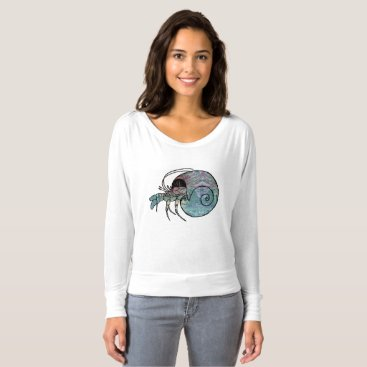 Beach Themed Hermit Crab T-shirt