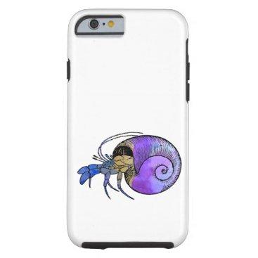 Beach Themed Hermit Crab Tough iPhone 6 Case