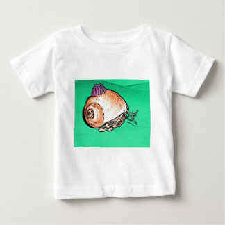Hermit Crab with a Barnacle Shell Hat Tshirts