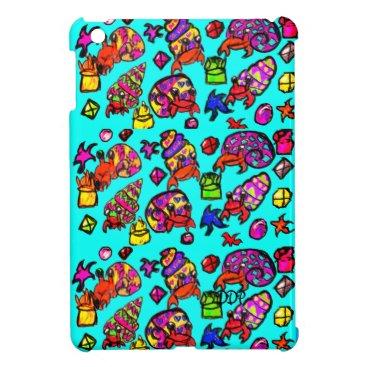 Hermit crabs beach case for the iPad mini