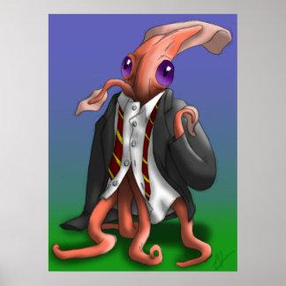 Hermit Squid - Suit Print