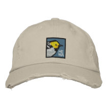 Hermit Warbler Embroidered Baseball Hat
