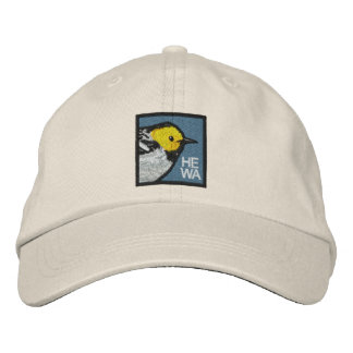 Hermit Warbler (non-distressed) Baseball Cap