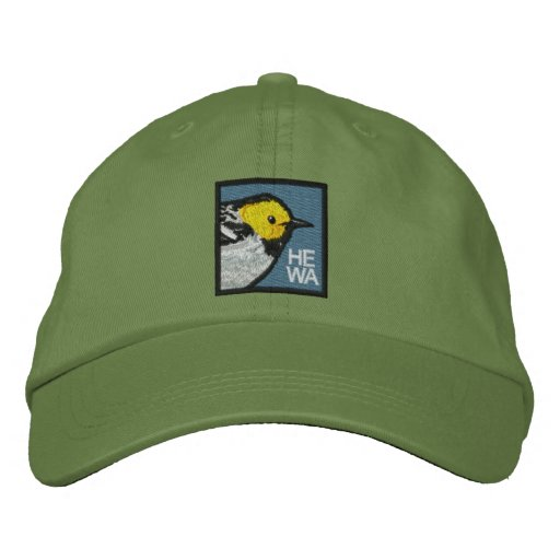 Hermit Warbler (non-distressed) Embroidered Baseball Hat