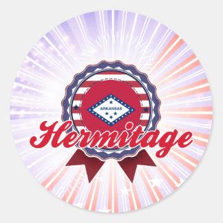 Hermitage, AR Sticker