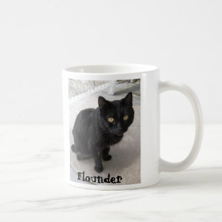 Hermitage Mug- Flounder Classic White Coffee Mug