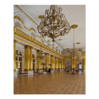 Hermitage Museum, Room 191, The Great Hall Poster