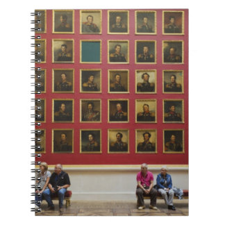 Hermitage Museum, Room 197, The 1812 War Gallery Notebook
