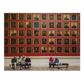 Hermitage Museum, Room 197, The 1812 War Gallery Postcard