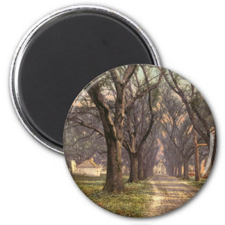 Hermitage plantation Savannah Georgia Refrigerator Magnet