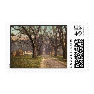 Hermitage plantation Savannah Georgia Postage Stamps