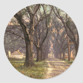Hermitage plantation Savannah Georgia Stickers