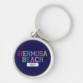 Hermosa Beach 1907 Keychain
