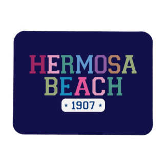 Hermosa Beach 1907 Magnet