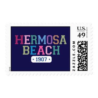 Hermosa Beach 1907 Stamp