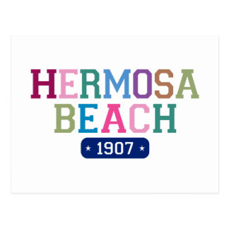 Hermosa Beach 1907 Postcard