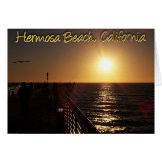 Hermosa Beach, CA Greeting Card