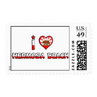 Hermosa Beach, CA Postage Stamp