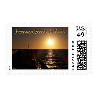 Hermosa Beach, CA Postage
