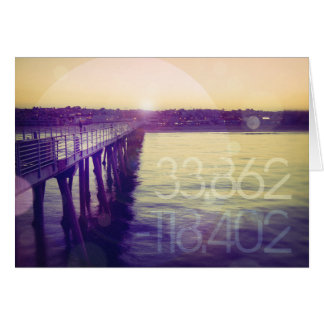 Hermosa Beach, California Greeting Card