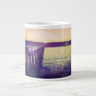 Hermosa Beach, California Giant Coffee Mug