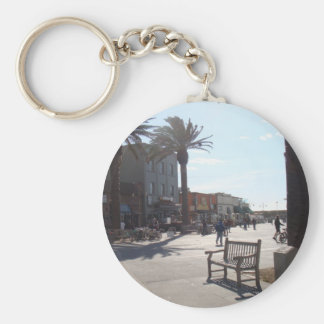Hermosa Beach, California Keychain