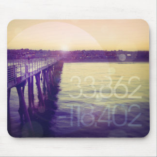 Hermosa Beach, California Mouse Pad
