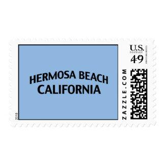 Hermosa Beach California Postage Stamp