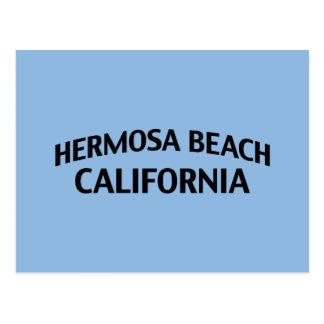 Hermosa Beach California Postcard