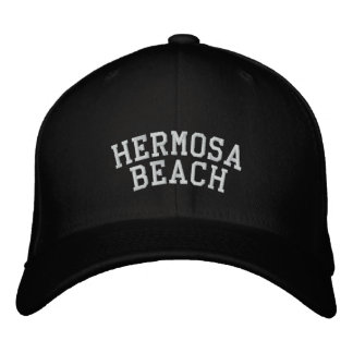 Hermosa Beach Embroidered Baseball Hat