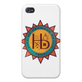 Hermosa Beach Seal iPhone 4/4S Case