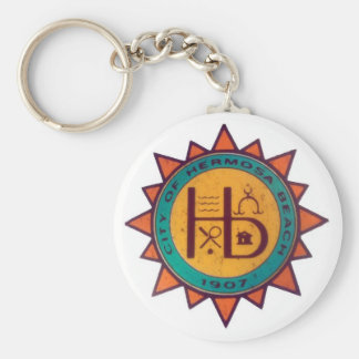 Hermosa Beach Seal Keychain