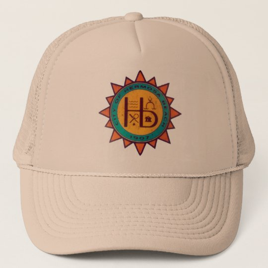 Hermosa Beach Seal Trucker Hat