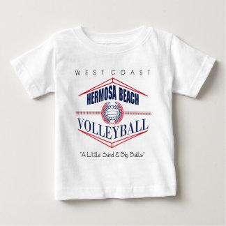 Hermosa Beach Volleyball Baby T-Shirt