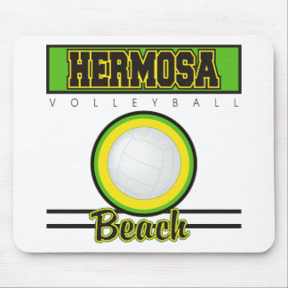 Hermosa Beach Volleyball Gift Mouse Pad
