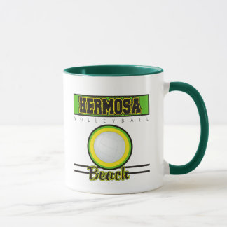 Hermosa Beach Volleyball Gift Mug