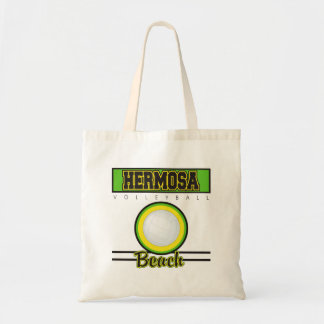 Hermosa Beach Volleyball Gift Tote Bag
