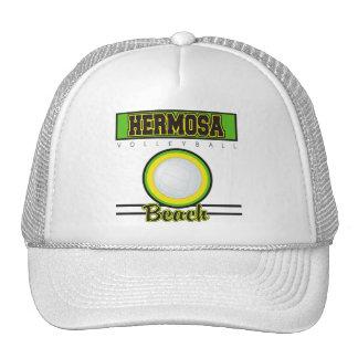 Hermosa Beach Volleyball Gift Trucker Hat