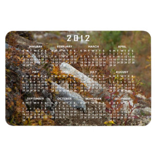 Hermosa Hillside; 2012 Calendar Magnet