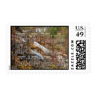 Hermosa Hillside; 2012 Calendar Postage Stamp
