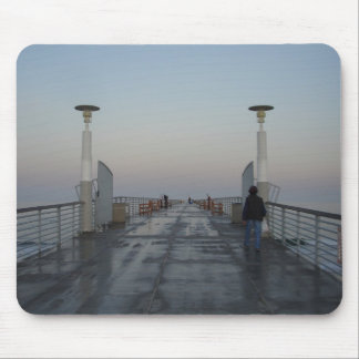 Hermosa Pier, CA Mouse Pad