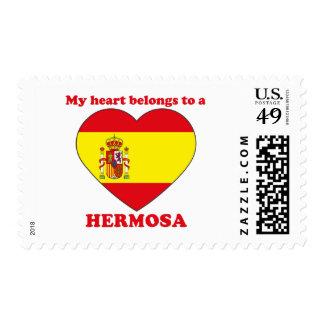 Hermosa Postage Stamp